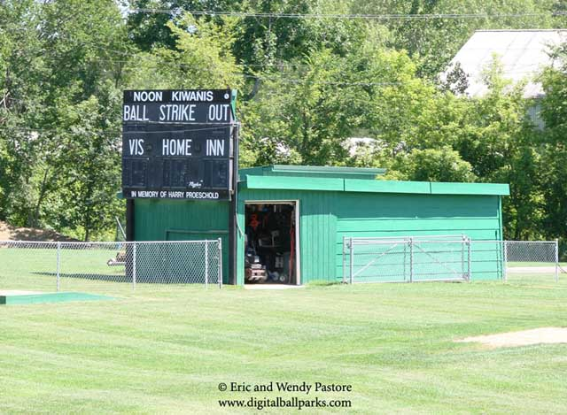 Jerry Patterson's Patterson Field - Fort Dodge Iowa - Home of Youth and Amateur Baseball