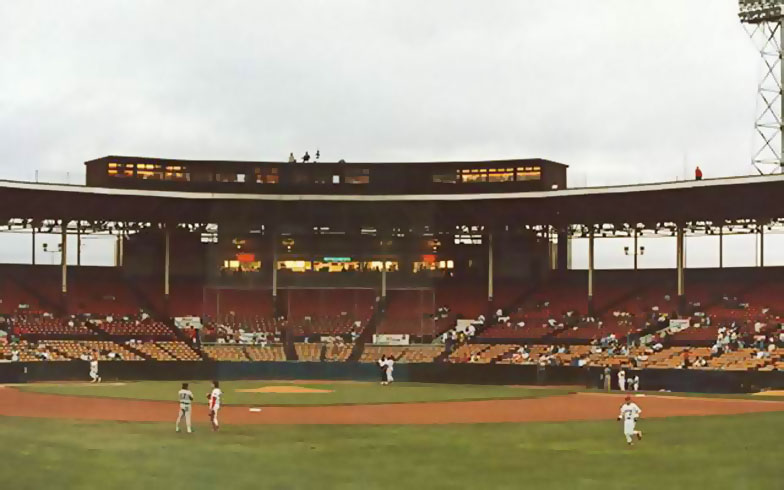 Bush Stadium Indianapolis Indians Former Home Of The Indianapolis Indians Clowns Abc S