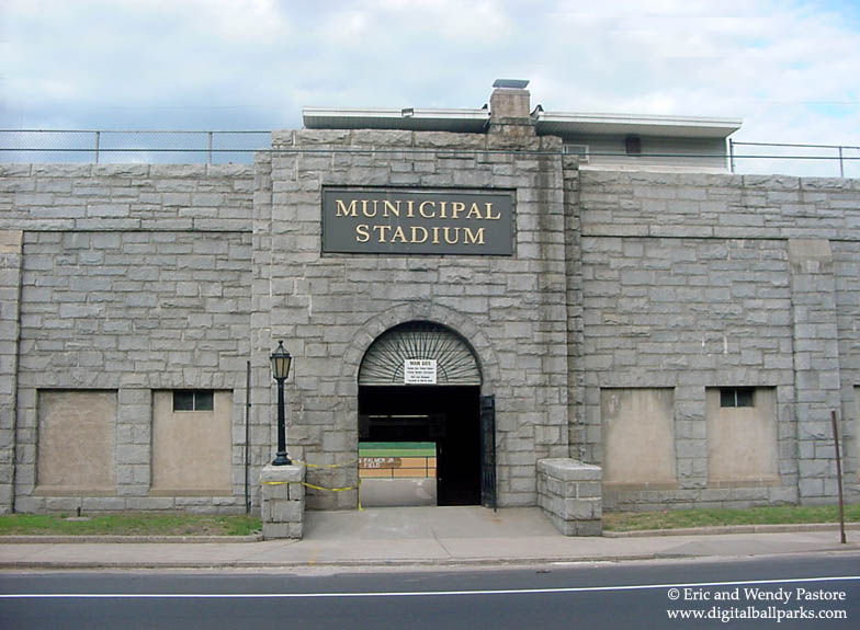 Municipal Stadium Waterbury Connecticut Former Home Of