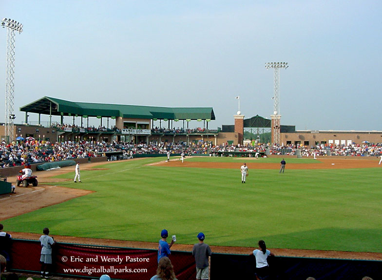 Gcs Ballpark Fmr Gmc Stadium Sauget Illinois Home Of