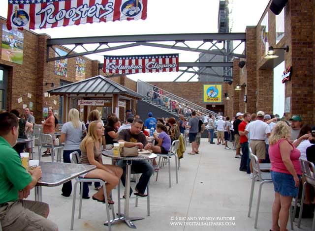 Huntington park columbus ohio home of the