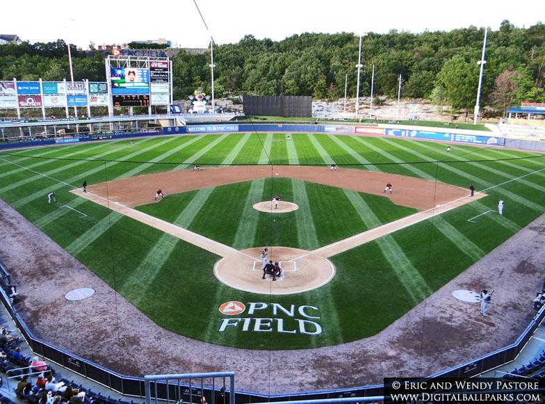 Pennsylvania >> PNC Field - Dunmore Pennsylvania - Home of the Scranton Wilkes Barre RailRiders
