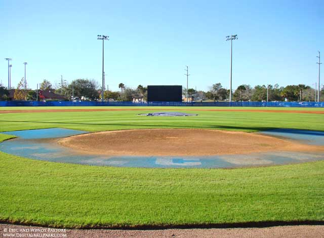 Daytona Beach Florida Baseball Feild
