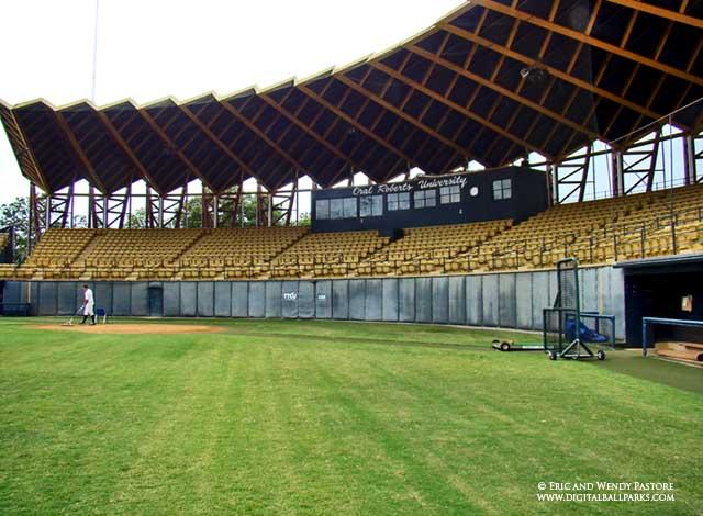 Lynn University Baseball >> J.L. Johnson Stadium - Oral Roberts University in Tulsa Oklahoma - Home of the ORU Golden Eagles