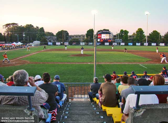 Royal Athletic Park II - Victoria Canada - Home of the Victoria Seals - Former Victoria Mussels ...