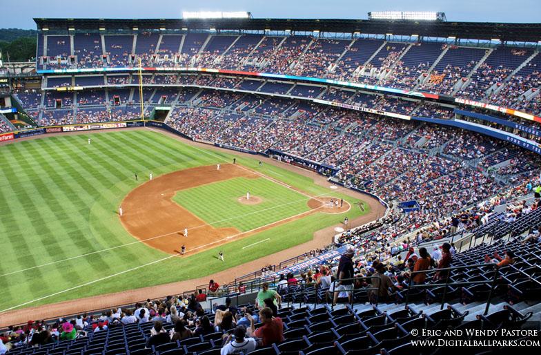 Turner Field aka Centennial Olympic Stadium - Atlanta Georgia ...